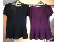 Size 10 Dorothy Perkins tops