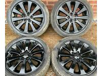 Vauxhall Astra J 17 inch Alloy Wheels 5 x 105 off 1.4 Turbo Petrol fits 1.3 Diesel 7j et42 215/50
