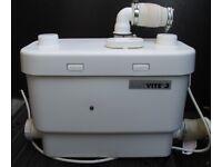 Saniflo Sanivite 3 undersink pump 220-240 V 50 Hz 350 W