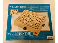 Labyrinth marble game