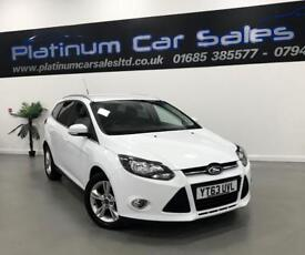 FORD FOCUS ZETEC TDCI ESTATE (white) 2013