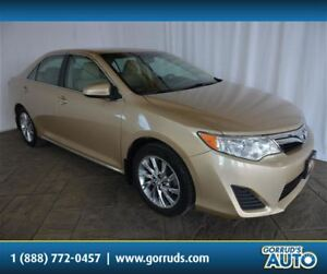 2012 Toyota Camry LE/POWER DRIVER SEAT/ALLOY RIMS/BLUETOOTH