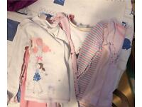 Girls 2-3yrs PJ's and dressing gown