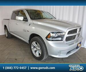2014 Dodge Ram 1500 SPORT/4X4/NAV/LEATHER/BLUETOOTH/BACKUP CAMER