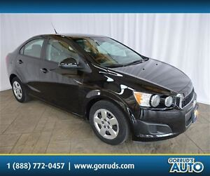 2012 Chevrolet Sonic LS/BLUETOOTH/AUTOMATIC