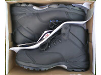 SAFETY BOOTS - HIMALAYAN - BLACK - COMPOSITE TOE CAP
