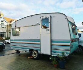 Vintage Ace Rallyman Retro Caravan