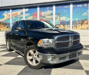 2014 Ram 1500 SLT 4X4 TURBO DIESEL 1 Owner, Remote Start