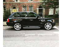 """Land Rover Range Rover Sport HSE 2.7 22"""" alloys (x5,q7,ml,discovery,jeep,4x4)"""