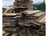 Used rustic scaffolding boards we have approximately 120 of these Free Delivery Locally