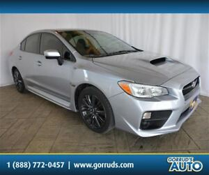 2016 Subaru WRX AWD/AUTOMATIC/AC/CAMERA/BLUETOOTH/HEATED SEATS