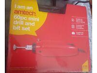 amtech 60 piece mini-drill set