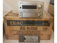 TEAC AG-H350 Boxed 5.1 - DTS Surround Receiver Gold/Silver Home Theatre Amp