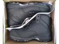 SAFETY BOOTS - HIMALAYAN - BLACK - SIZE 10 - COMPOSITE TOE CAP
