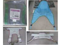Mobility Hoist Slings Various types and sizes NEW Stand aid Chair risers sling Clip and loop