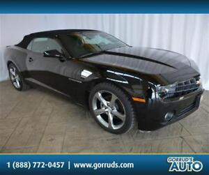 2013 Chevrolet Camaro CONVERTIBLE/2LT RS/LEATHER/CAMERA/BLUETOOT