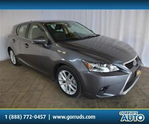 2014 Lexus CT 200h HYBRID/SUNROOF/LEATHER/DUAL ZONE CLIMATE