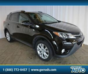 2013 Toyota RAV4 LTD/AWD/NEW TIRES/IMMACULATE!/LEATHER/NAV/SUNRO
