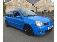 Racing blue Renault clio 182 2.0 sport immaculate