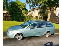 Chevrolet Lacetti Estate. 7 months MOT