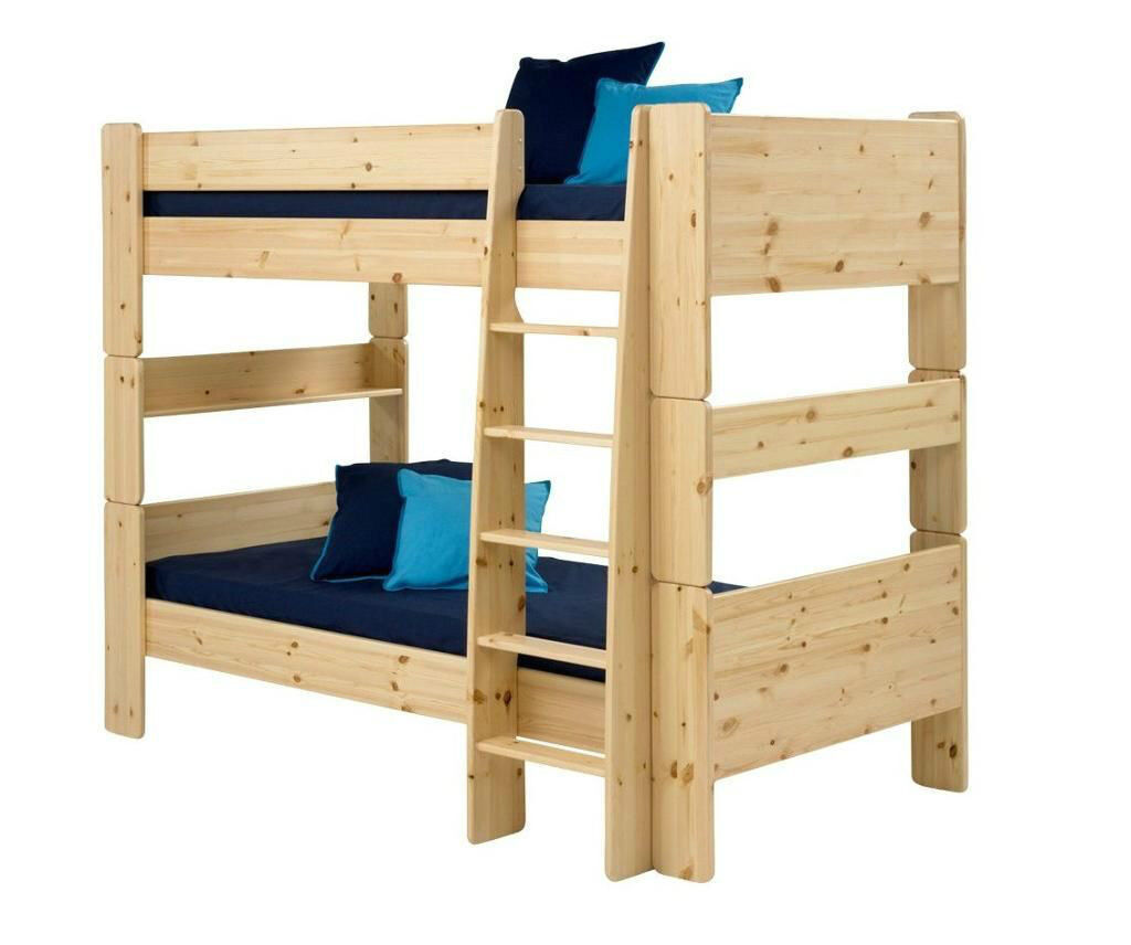 Brand New Boxed Steens Wizard Natural Pine Modular Bunk Bed In