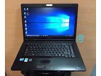 Toshiba i3 Fast HD Laptop, 4GB Ram, 250GB, Genuine Windows 10, Microsoft office, Good Condition
