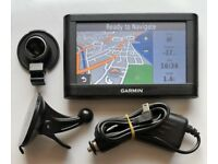 5 GARMIN nüvi® 52 GPS Sat Nav Latest UK & Ireland, Speed Cams (no offers, please)