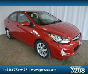 2013 Hyundai Accent GLS/SUNROOF/HEATED SEATS/BLUETOOTH