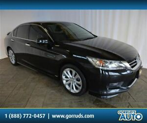 2015 Honda Accord TOURING/HEATED LEATHER SEATS/NAV/SUNROOF/CAMER