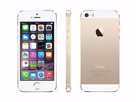 *Factory Unlocked - Very Good* 32GB Apple iPhone 5S Gold LTE/4G latest iOS 10.2.1
