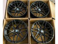 BMW 5 Series 20 inch Alloy Wheels 5 x 120 Staggered Strom CM Style Suvari 300 6 Series F10 F11 F12