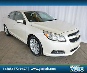 2013 Chevrolet Malibu LT WITH LEATHER, SUNROOF, BLUETOOTH, HEATE