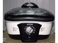 NEW SALTER 8 IN 1 MULTI COOKER, BOXED AN IDEAL GIFT, POSTAGE EXTRA.