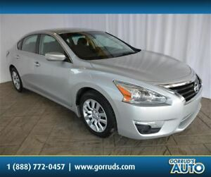 2015 Nissan Altima S/2.5L/CAMERA/BLUETOOTH/CRUISE/4 NEW TIRES
