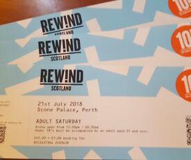 Rewind Tickets Sat 21st July - Headliners OMD