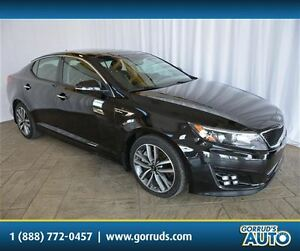 2014 Kia Optima SX/T-GDI/PANO ROOF/CAMERA/LEATHER/BLUETOOTH/NAV