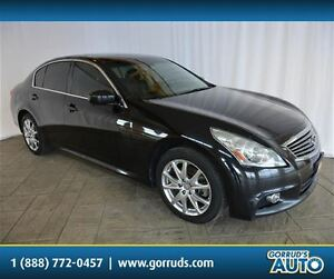 2010 Infiniti G37X S/AWD/HEATED LEATHER/NAV/SUNROOF