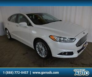 2014 Ford Fusion SE/HEATED LEATHER/CAMERA/NEW TIRES & BRAKES
