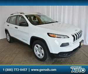 2014 Jeep Cherokee SPORT/4X4/BLUETOOTH/CRUISE