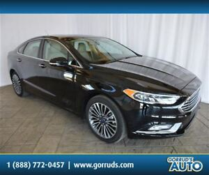 2017 Ford Fusion SE/AWD/LOW KMS/SUNROOF/CAMERA/LEATHER/NAV