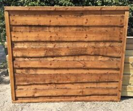 🌹New Brown Wayneylap Fence Panels > Top Quality <