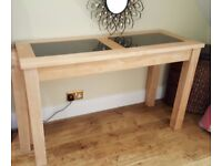 Console Table with Granite tops