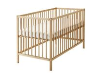 Beach Wooden cot, 2 height settings, dismantled for pick up, as new condition.
