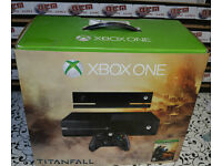 Microsoft Xbox One with Kinect 500GB Black Console Titanfall Edition