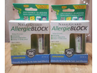 TWO x NasalGuard Allergie Block Allergy Hayfever 3g