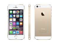 iPhone 5s. 16gb. Gold. Used. On vodaphone and lebara network. (Touch ID Not working)£125 fixed price