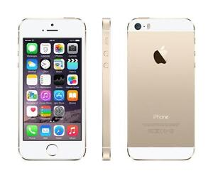 ORIGINAL APPLE IPHONE 5S GOLD ROGERS & CHATR 16GB 100% FONCTIONNEL WIFI TOUCHSCREEN 5G GSM iOS CAMERA BLUETOOTH GPS MP4