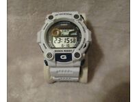 White Casio G-Shock Men's Watch G-7900A in excellent condition