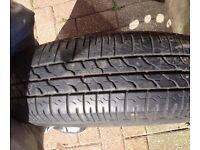 bridgestone tyre AND WHEEL 155/80/13 to fit micra