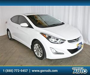 2015 Hyundai Elantra SPORT WITH POWER MOONROOF, HEATED SEATS